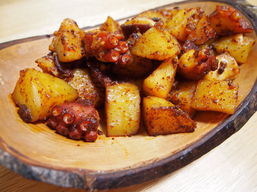 Galicia Octopus and Potatoes