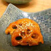 Teriyaki Lotus Root