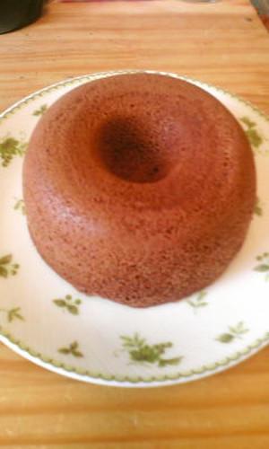 Chocolate Okara Steamed Bread for Low Sugar Dieters