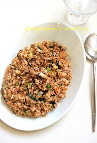 Our Family's Fried Rice with Mackerel