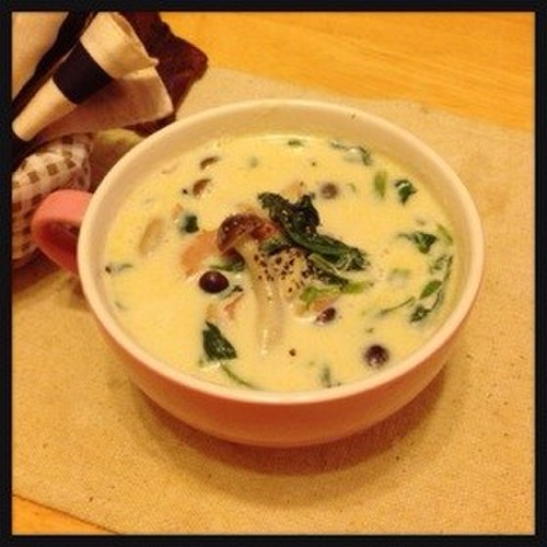 Rich Soy Milk Soup for Beautiful Skin
