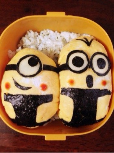 Easy Bento with Minions