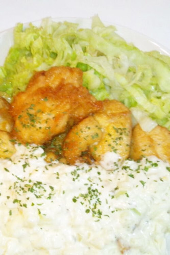 Easy Chicken Nanban with Sushi Vinegar and Tartar Sauce