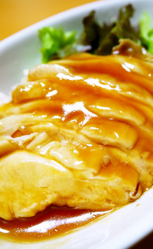 Refreshing, Simmered Chicken Breast