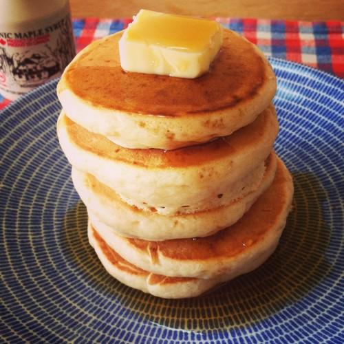 Egg-free Fluffy Pancakes
