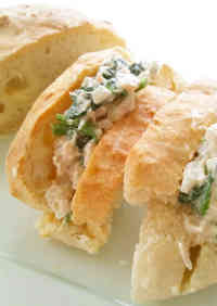 Onion, Tuna & Spinach Sandwiches