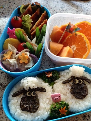 Shaun the Sheep Character Bento