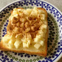 Apple Ginger Honey Toast