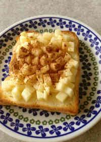 Apple Ginger Honey Toast