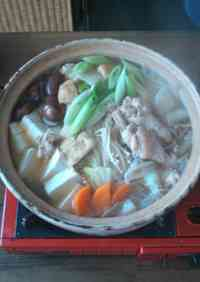 Ginger Chicken Hot Pot