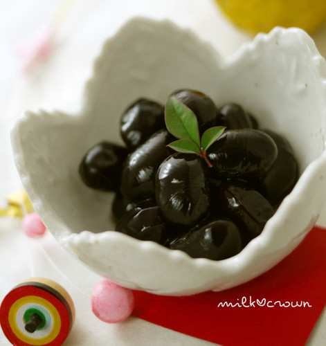 Kuromame Black Soybeans for Osechi