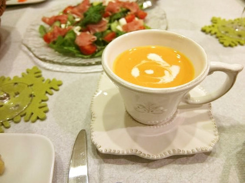 Creamy Carrot and Red Bell Pepper Soup