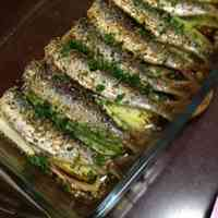 Italian Style Grilled Sardines