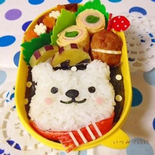 Character Bento Mr. Polar Bear