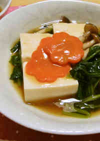 Silken Tofu with Thick Ankake Sauce