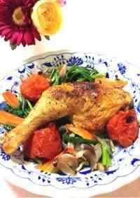 Simple Roast Chicken For Christmas Dinner
