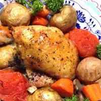 Roast Chicken for Holiday Dinner
