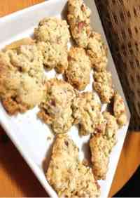 Tea and Apple Drop Cookies