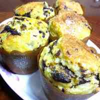 Easy Chocolate Chip Tofu Muffins
