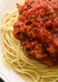 Our Family's Spaghetti Meat Sauce