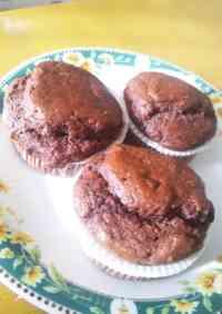 Tofu Chocolate Chip Muffins