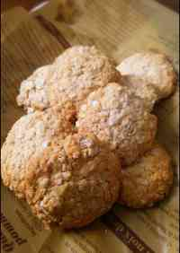 Healthy and Beautiful Rice Flour Oatmeal Cookies