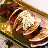Ultra-Easy Plump Squid Stuffed with Rice (Ikameshi) and Teriyaki-Style Sauce