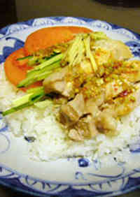 Chicken Rice (Khao Man Gai)