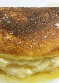 Mont-Saint-Michel Style Fluffy Omelet