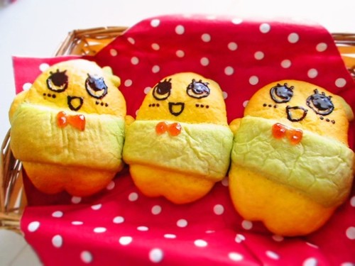 Character Bread Funasshii Kabocha Squash Bread
