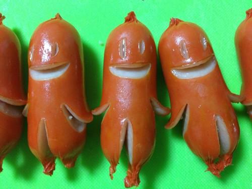 Sausage Aliens