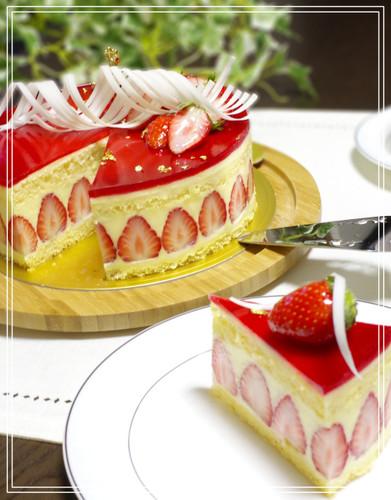 Le Fraisier (French-Style Strawberry Shortcake)