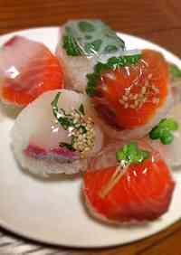 Doll Festival Cute Sushi Balls