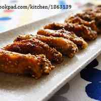 Easy Teriyaki Chicken Wings with Sesame Seeds