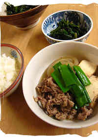 Nikudofu - Simmered Meat and Tofu