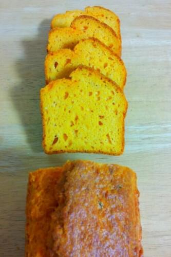 Tomato and Parmesan Cheese Pound Cake