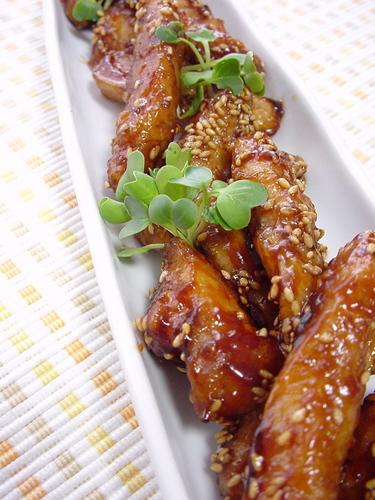 Teriyaki Sesame Chicken Sticks