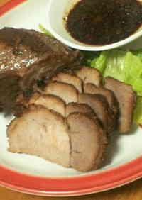 15-Minute Cooking Time Microwave Roast Pork