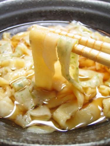 Tri-color Handmade Okara Udon Noodles