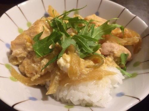 Inexpensive & Healthy Chicken and Egg Rice Bowl