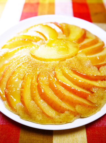 Easy Apple Cake Made In a Frying Pan