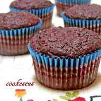 Beetroot & Dark Chocolate Cupcakes