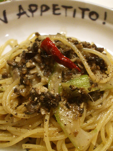 Southern Italian: Olive and Anchovy Pasta
