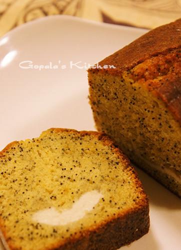 Poppy Seed & Cream Cheese Cake
