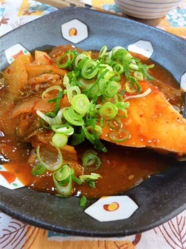 ✜ Simmered Amberjack Kimchi ✜