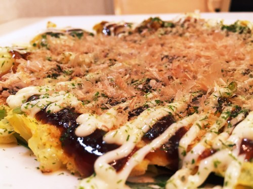 Fluffy Okonomiyaki with just Cabbage and Eggs!