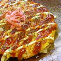 Okonomiyaki-style Chinese Cabbage Omelette