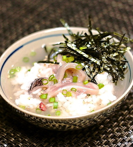 Shiokara Fermented Squid Ochazuke