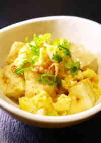 One More Dish: Sweet-Savory Simmered Firm Tofu and Eggs