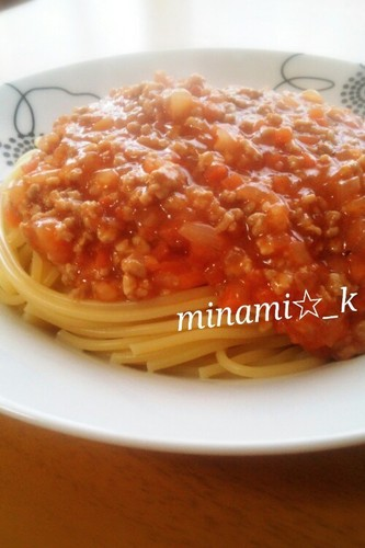 Easy Meat Sauce Pasta